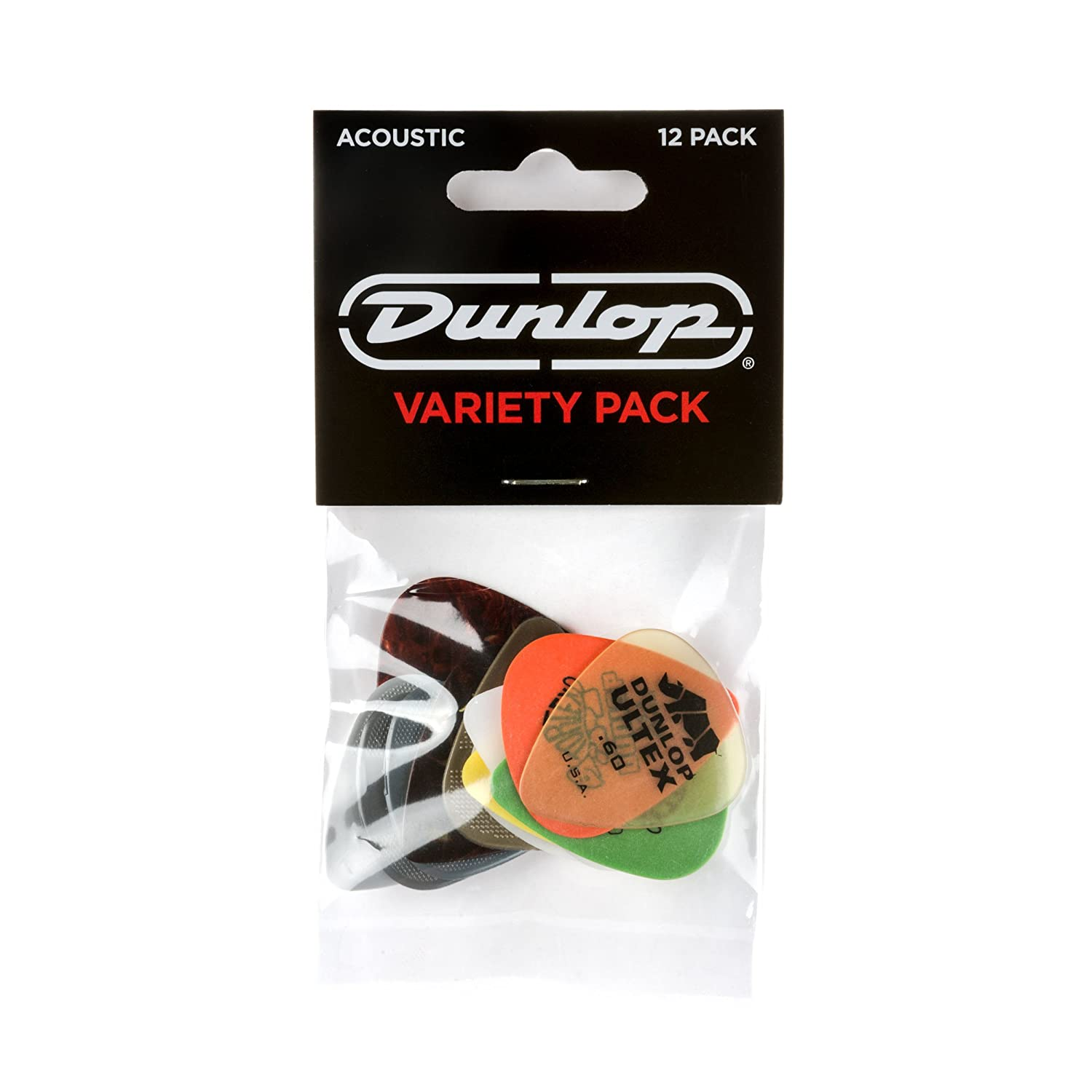 JIM DUNLOP PVP112 Acoustic Guitar Pick Variety Pack