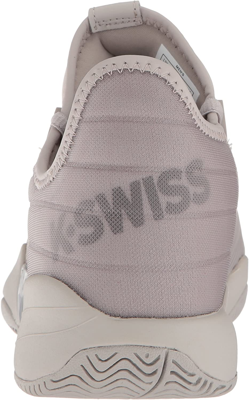 K-Swiss Si-2018, Tennis Homme Silver Cloud Tornado