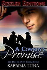 A Cowboy's Promise [The Men of Onyx Creek Book 1] Kindle Edition