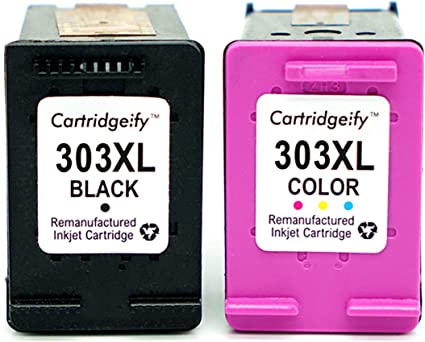 Cartridgeify 303XL Reemplazo HP 303 XL Cartuchos de Tinta Pack Ahorro, Compatible conHP Envy Photo 6230 7100 7130 7134 7830 7834 Negro + Tricolor: Amazon.es: Oficina y papelería