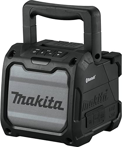 Makita XRM08B 18V LXT 12V max CXT Lithium-Ion Cordless Bluetooth Job Site Speaker, Tool Only