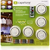 Amazon 6 x led wireless puck lights with remote control 5 mozeypictures Gallery