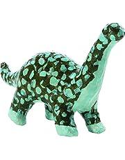 Decopatch–Papel maché (Mini Kit 19x13,5x4,5cm), diseño de Dinosaurio, Color marrón