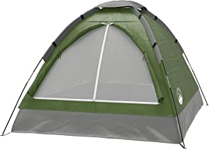 Wakeman Family-Tents 2-Person Dome Tent- Rain Fly & Carry Bag