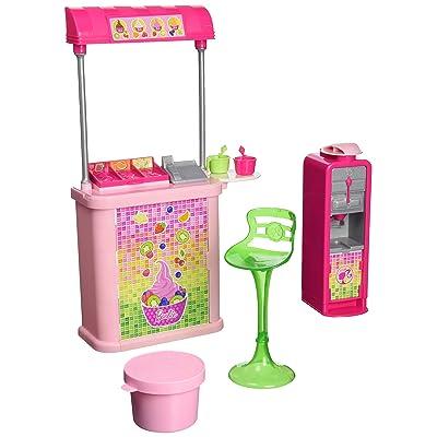 Barbie Malibu Ave. Frozen Yogurt Shop: Toys & Games