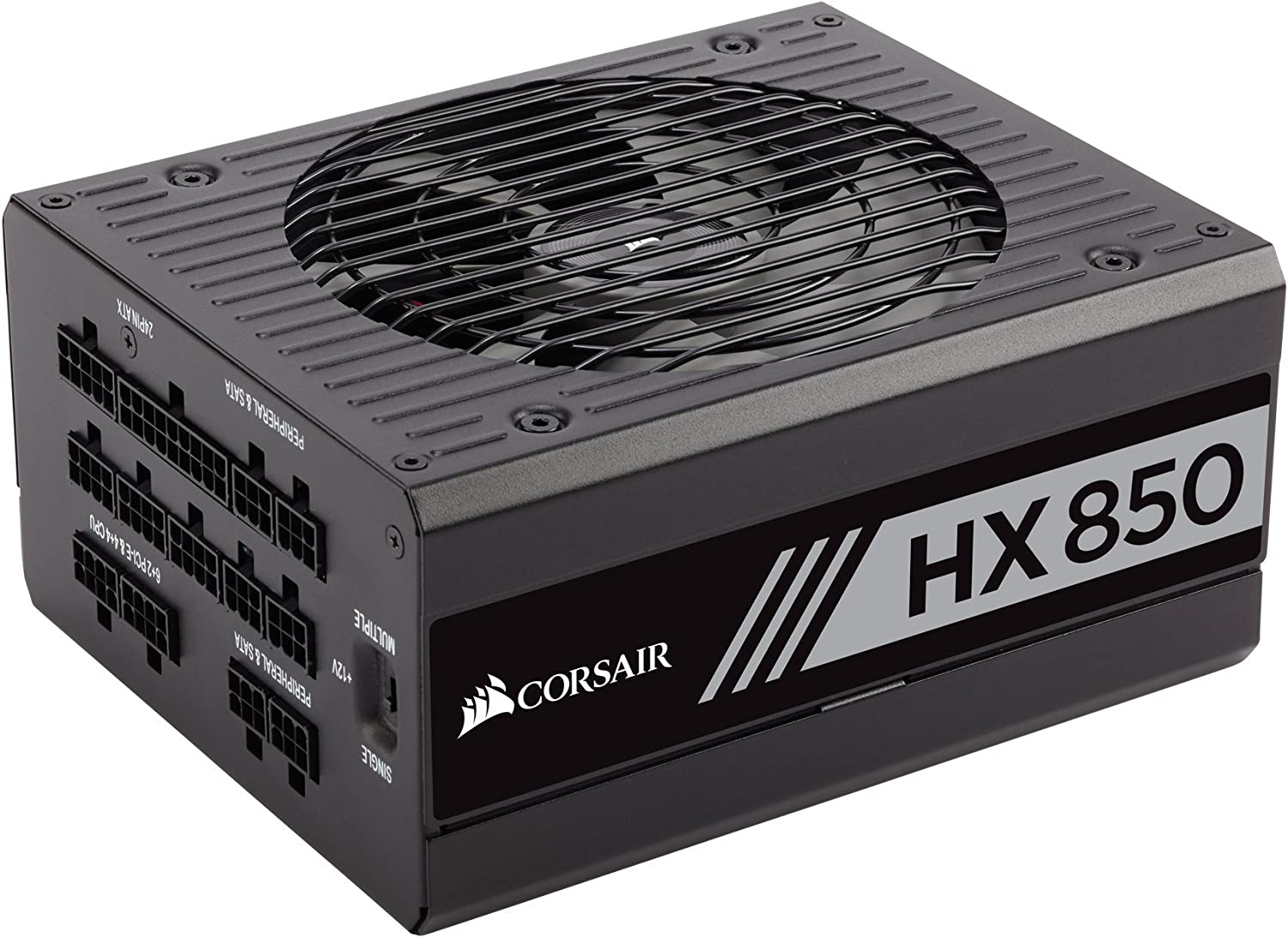 CORSAIR HX Series, HX850, 850 Watt, 80+ Platinum Certified, Fully Modular Power Supply