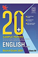 20 Plus CBSE Sample Papers English Class 12 for 2021 Exam with Reduced Syllabus Kindle Edition