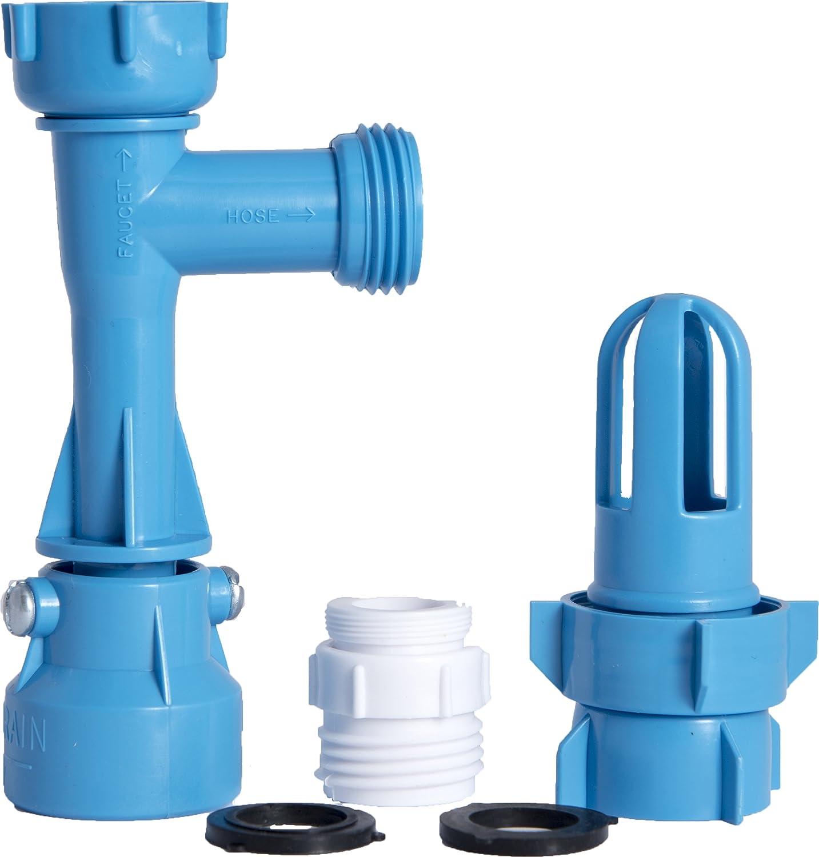 Amazon.com: Blue Magic Waterbed Fill & Drain Kit with 4 fl oz ...