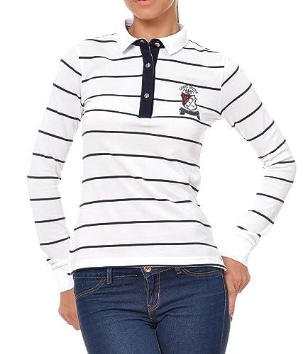 Polo Sweat Maglietta T-Shirt Felpa manica lunga per donna di M.Conte Kora
