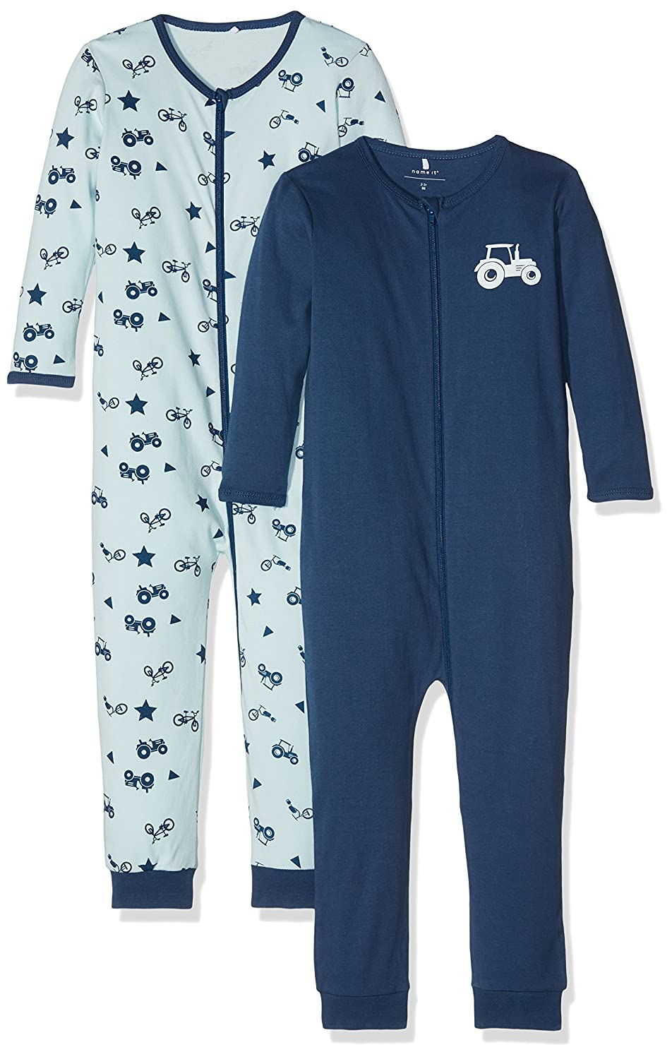 Name It Baby Boys' Sleepsuit Pack of 2 13145661