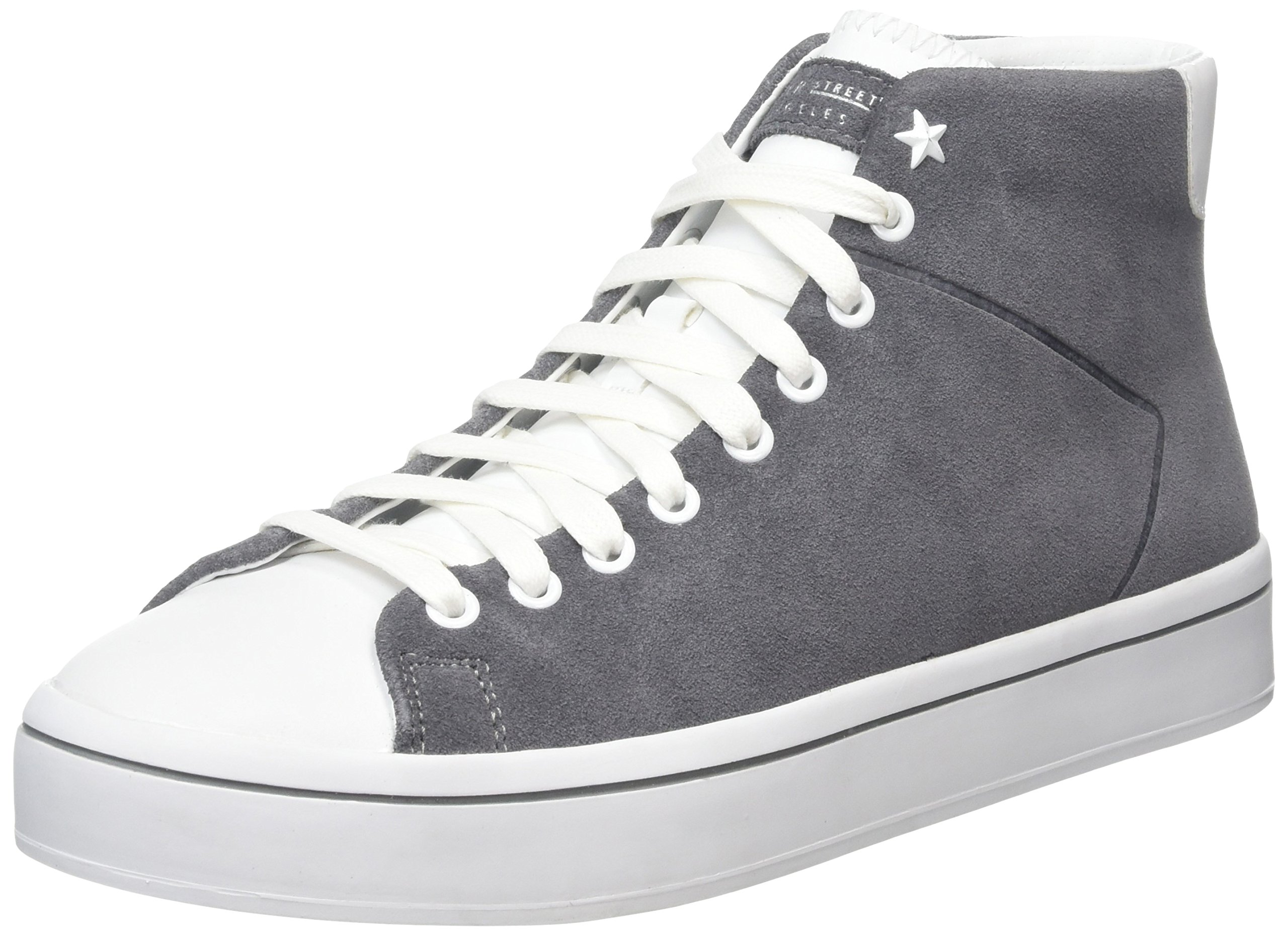 Skechers Hi-Lite Sugar High Womens Court-Style High Top Sneakers Gray 11