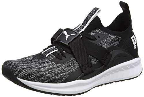 02c4733a6a9 Puma Men s Ignite Evoknit Lo 2 Black White-Quiet Shade Running Shoes-9  UK India (43 EU) (19045902)  Buy Online at Low Prices in India - Amazon.in