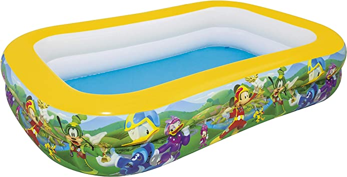 Bestway 91008 - Piscina Hinchable Infantil Mickey and the Roadster Racers Family 262x175x51 cm: Amazon.es: Juguetes y juegos