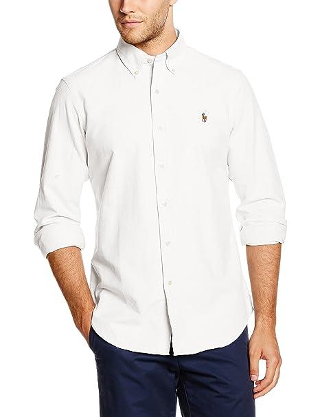 Polo Ralph Lauren Core Fit BD Ppc Camisa para Hombre: Amazon.es ...