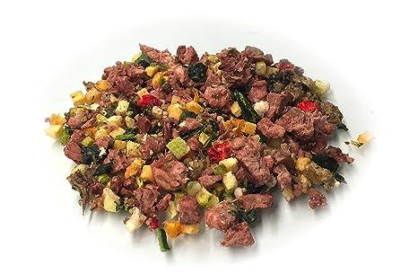 Raw & Ready barf casquería + verduras + Frutas para recién Carne Forro