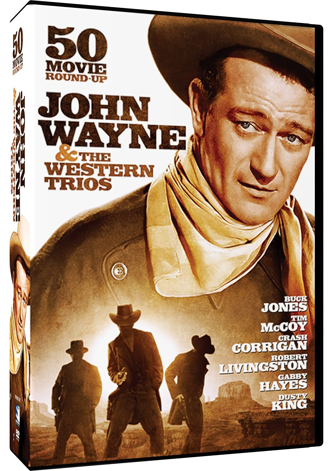 John Wayne & The Western Trios - 50 Movie Roundup: McLintock!, The Three Mesquiteers , Forbidden Trails, The Range Busters and more!