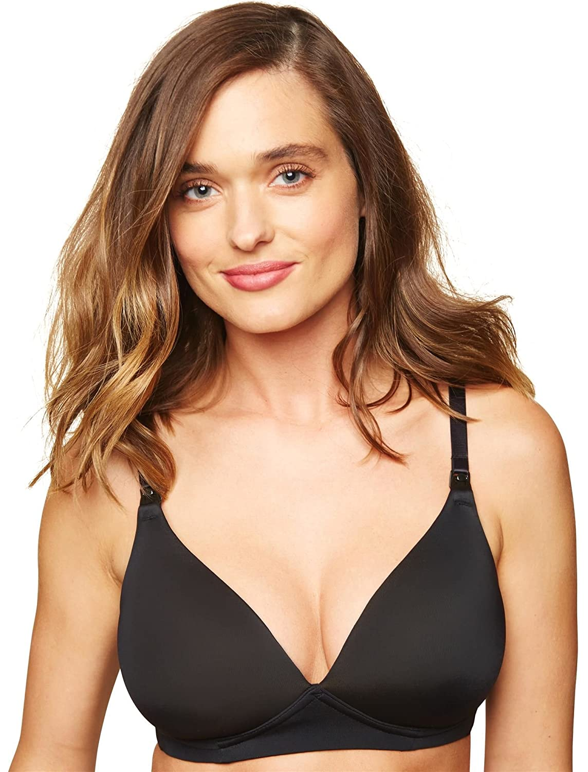 Motherhood Maternity Women's Lightly Lined Wireless Nursing Bra