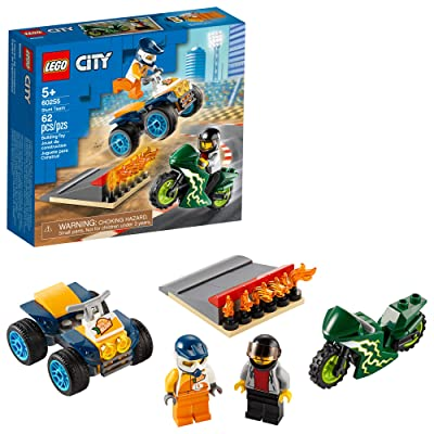 LEGO City Stunt Team 60255 Bike Toy, Cool Building Set for Kids, New 2020 (62 Pieces): Toys & Games