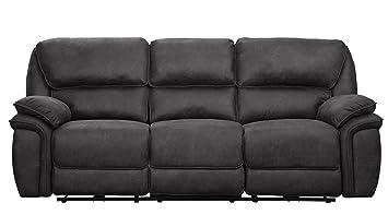 Amazon Com Homelegance Hadden 91 Power Reclining Sofa With Usb