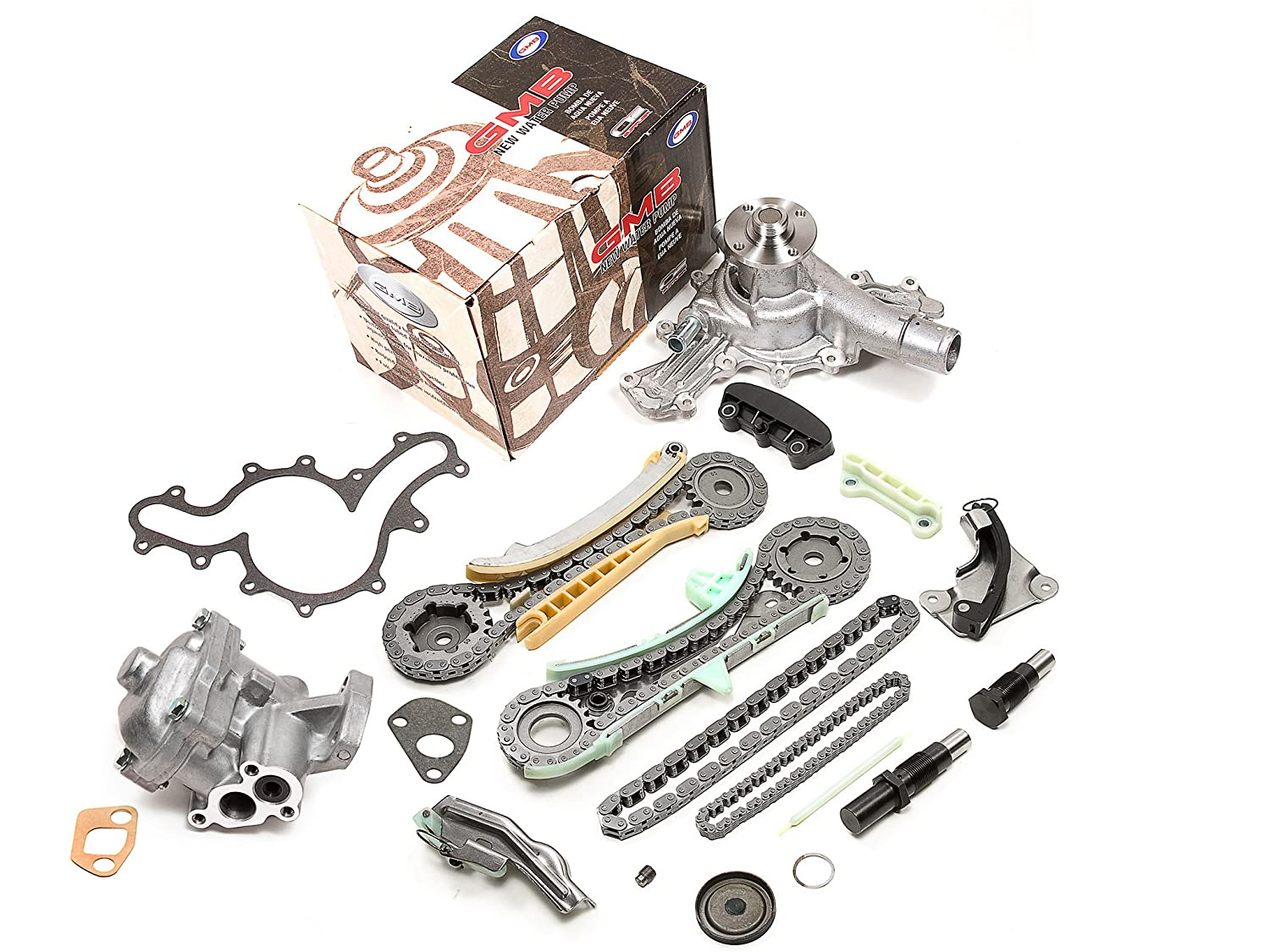 Amazon evergreen tk20700wop ford explorer ranger mazda mercury amazon evergreen tk20700wop ford explorer ranger mazda mercury 40l sohc timing chain kit oil pump and water pump with gears automotive fandeluxe Images