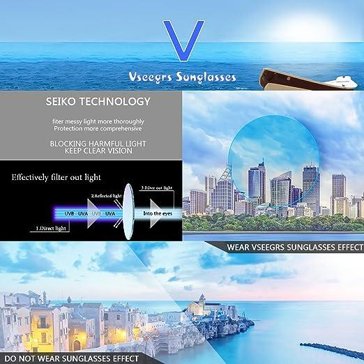 b95df9dd57 Amazon.com  Vseegrs Vintage Oversized Square Aviator Polarized Sunglasses  for Men Wayfarer Shades with UV Protection (leopard   brown lens