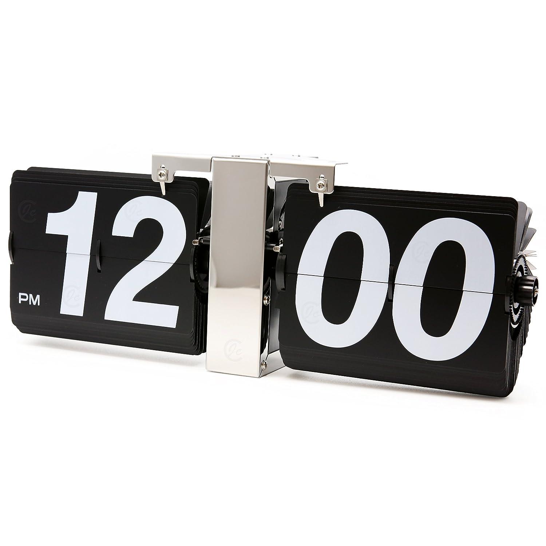 Amazon jcc retro series classic jumbo large size flip page amazon jcc retro series classic jumbo large size flip page down wall hanging clock quartz desk clock home kitchen amipublicfo Choice Image