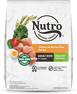 NUTRO NATURAL CHOICE Adult Healthy Weight Dry Dog Food, All Breed Sizes