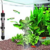 Fully Submersible Water Heater for Aquariums --- Automatically Maintains Temperature - Adjustable temperature gauge