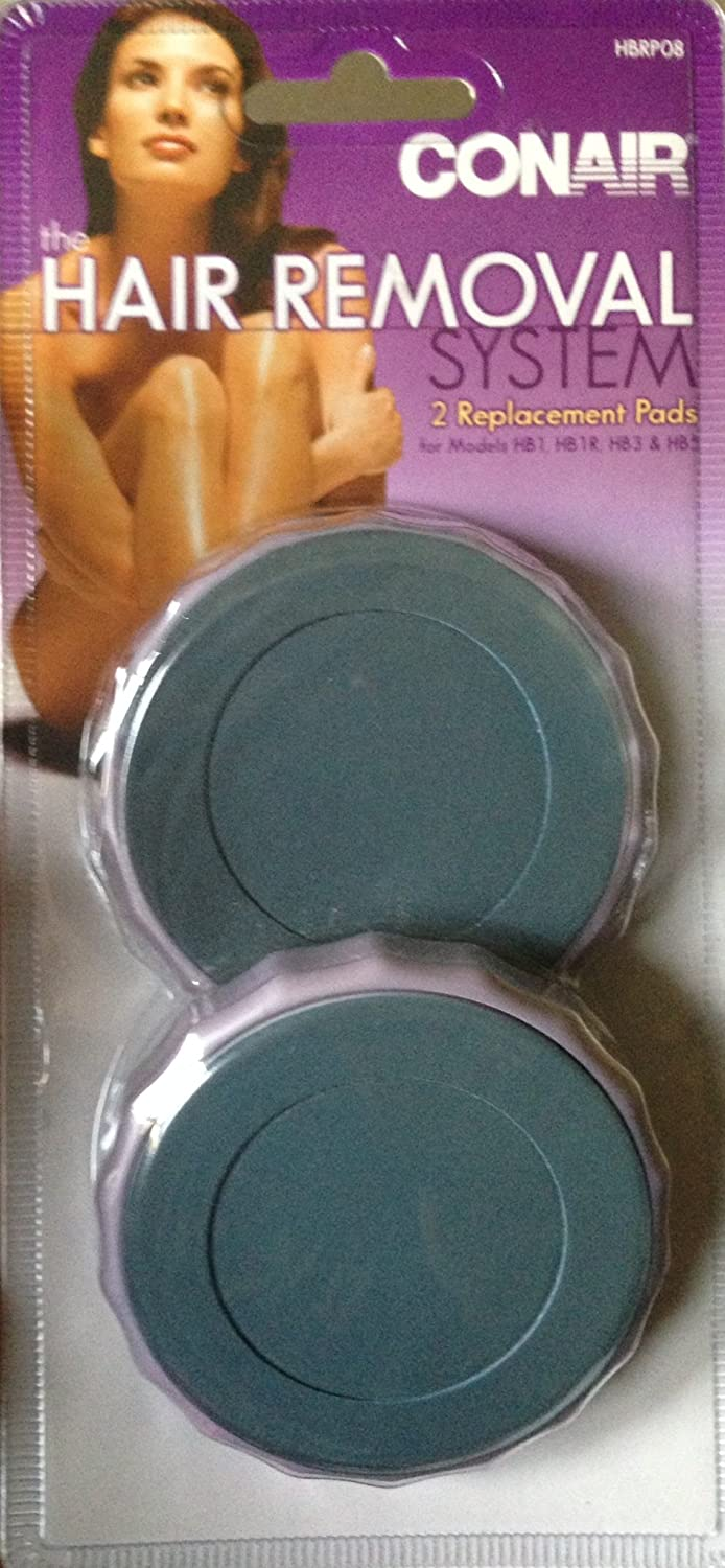 Conair Hair Removal System Replacement Pads for Model HB1