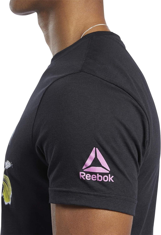 Homme T-Shirt /à Manches Courtes Reebok CF Surfing Bear Graphic Tee