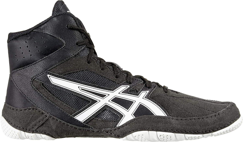 Perforhommece noir blanc 44 EU ASICS Matcontrol Chaussure pour Homme Wrestling