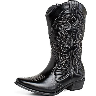 50-70%off beautiful style 100% quality quarantee SheSole Womens Winter Western Cowgirl Cowboy Boots