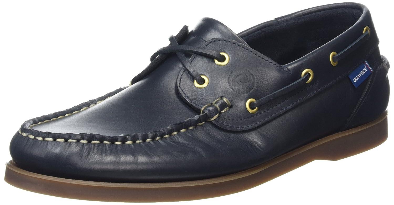 QUAYSIDE Unisex-Erwachsene Clipper Bootsschuhe  43 EU|Blau (Marineblau)