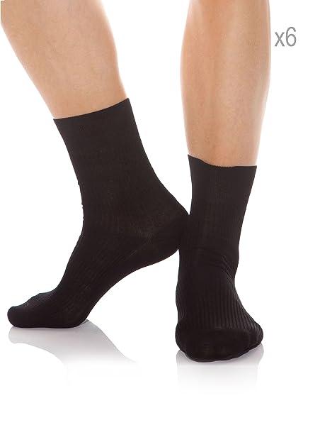 Abanderado Calcetin Socks Hilo Escocia Clas Negro 39/40: Amazon.es: Ropa y accesorios