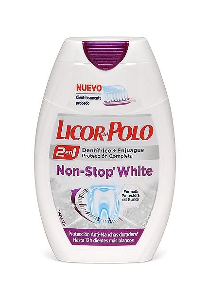 Licor del Polo Pasta de dientes 2 en 1 Non-Stop White ...
