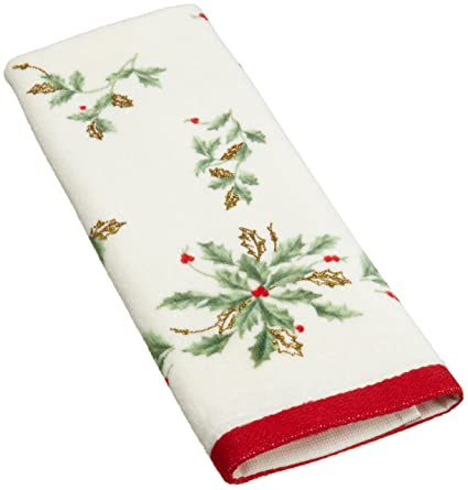 Lenox Holiday Printed Fingertip Towel