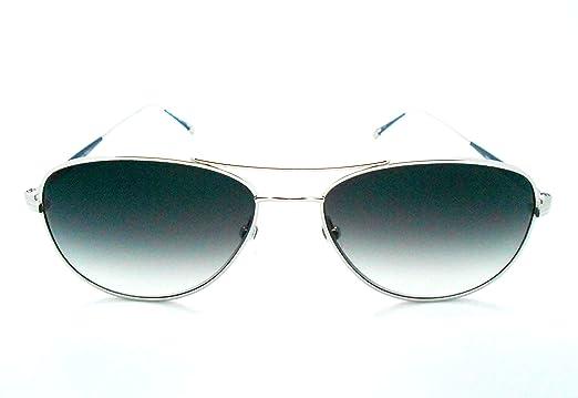 Amazon.com: Matsuda m3041 Navy/Silver Aviator anteojos de ...