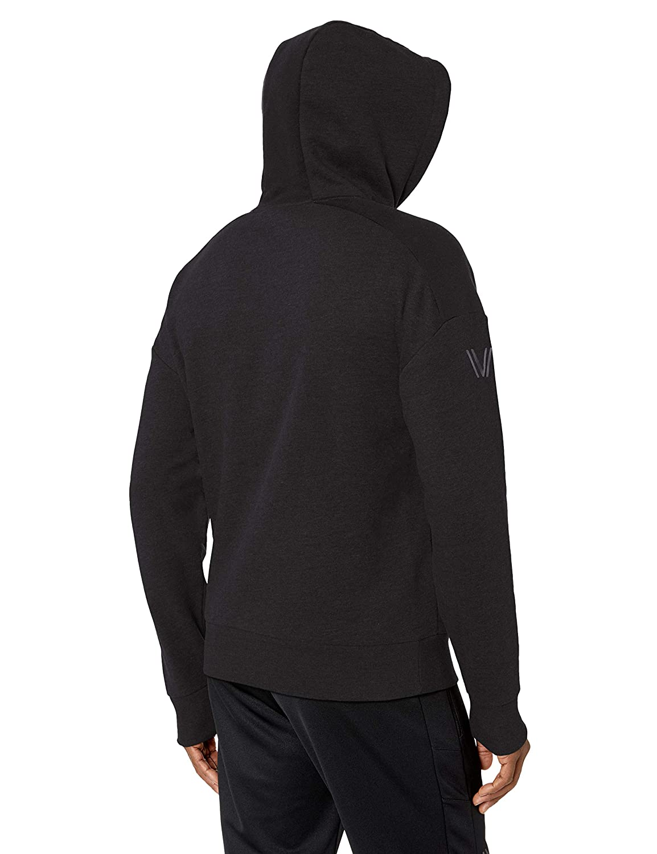 Peak Velocity Mens Medium-weight Fleece Pullover Loose-fit Sweatshirt