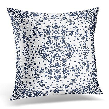 Amazon UPOOS Throw Pillow Cover White Awesome Embellishment Mesmerizing Embellished Decorative Pillows