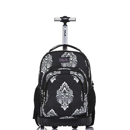 Amazon.com  Tilami Rolling Backpack Back 18 Inch 3782652eb79