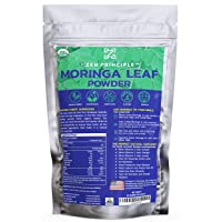 1 lb. Premium Organic Moringa Oleifera Leaf Powder. 100% USDA Certified. Sun-Dried...