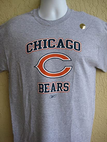 low cost e90a3 c7dd0 Reebok Chicago Bears Arched Logo NFL T-Shirt (Large)