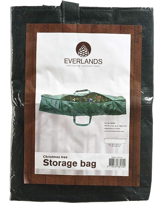 Decoris DNO4063289 - Bolsa de plástico, Verde, 150 x 150 cm