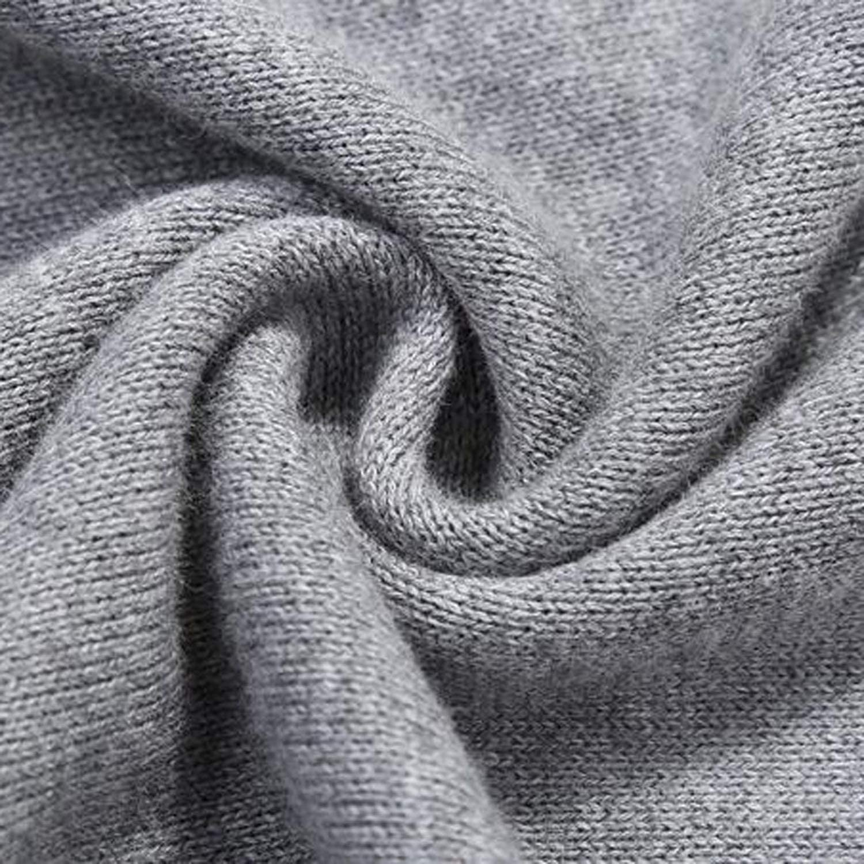 Sweater Men Autumn Winter Fashion Loose Circle Colla top Blouse Jumper wear Mens Sweaters 2018,Negro,XXL,U.S