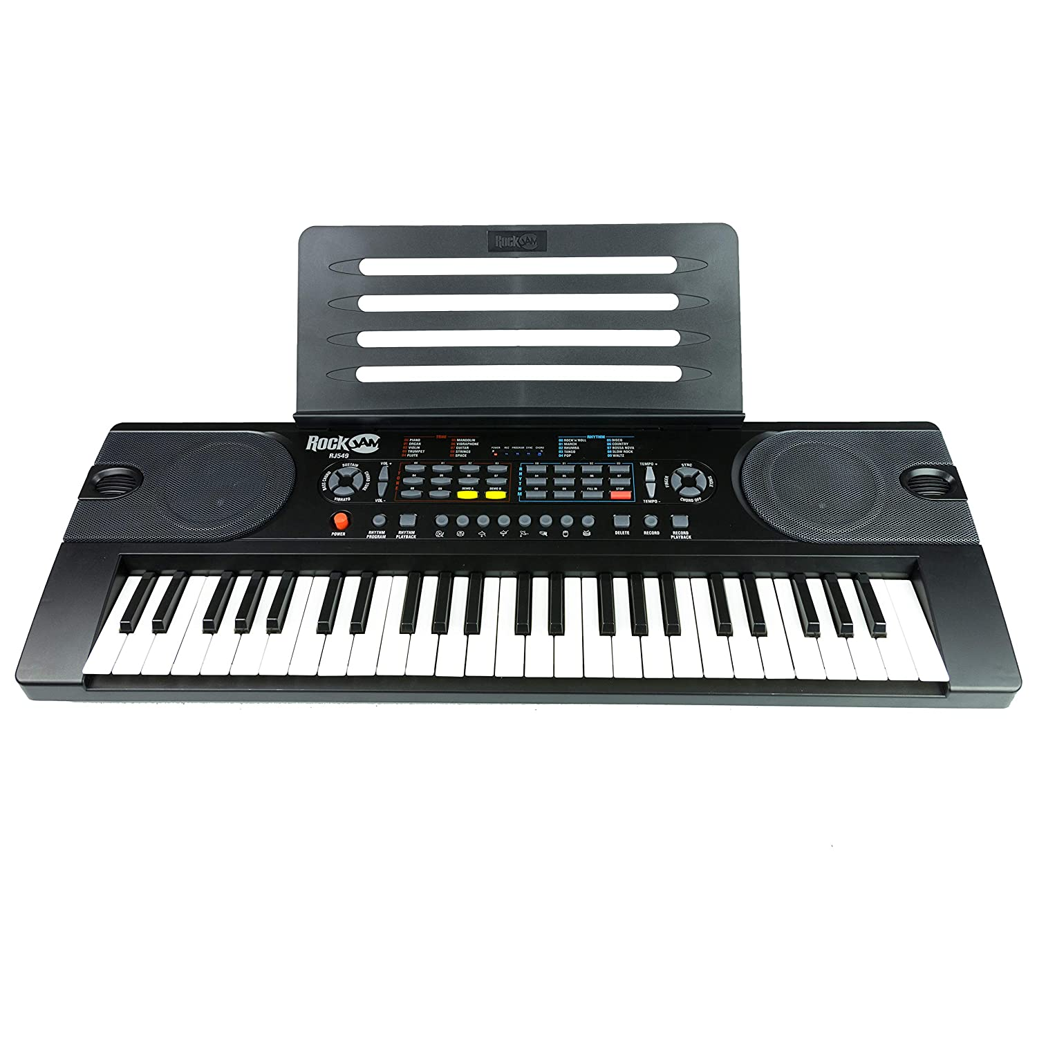 RockJam 49-Key Portable Keyboard (RJ549)