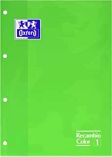 Oxford 100108305 A4 Refill Pad, 80 Sheets, 5 x 5 Grid, Pink, Pack ...
