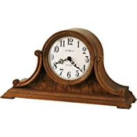 Howard Miller Anthony Mantel Clock 635-113 – Oak Yorkshire with Quartz & Dual-Chime Movement