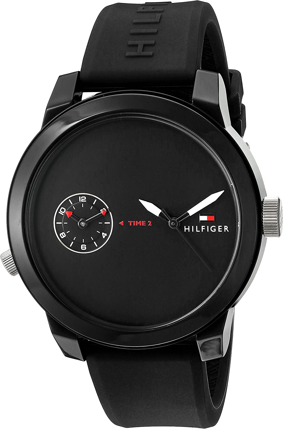 Tommy Hilfiger Men's 1791326 Analog Display Quartz Black Watch