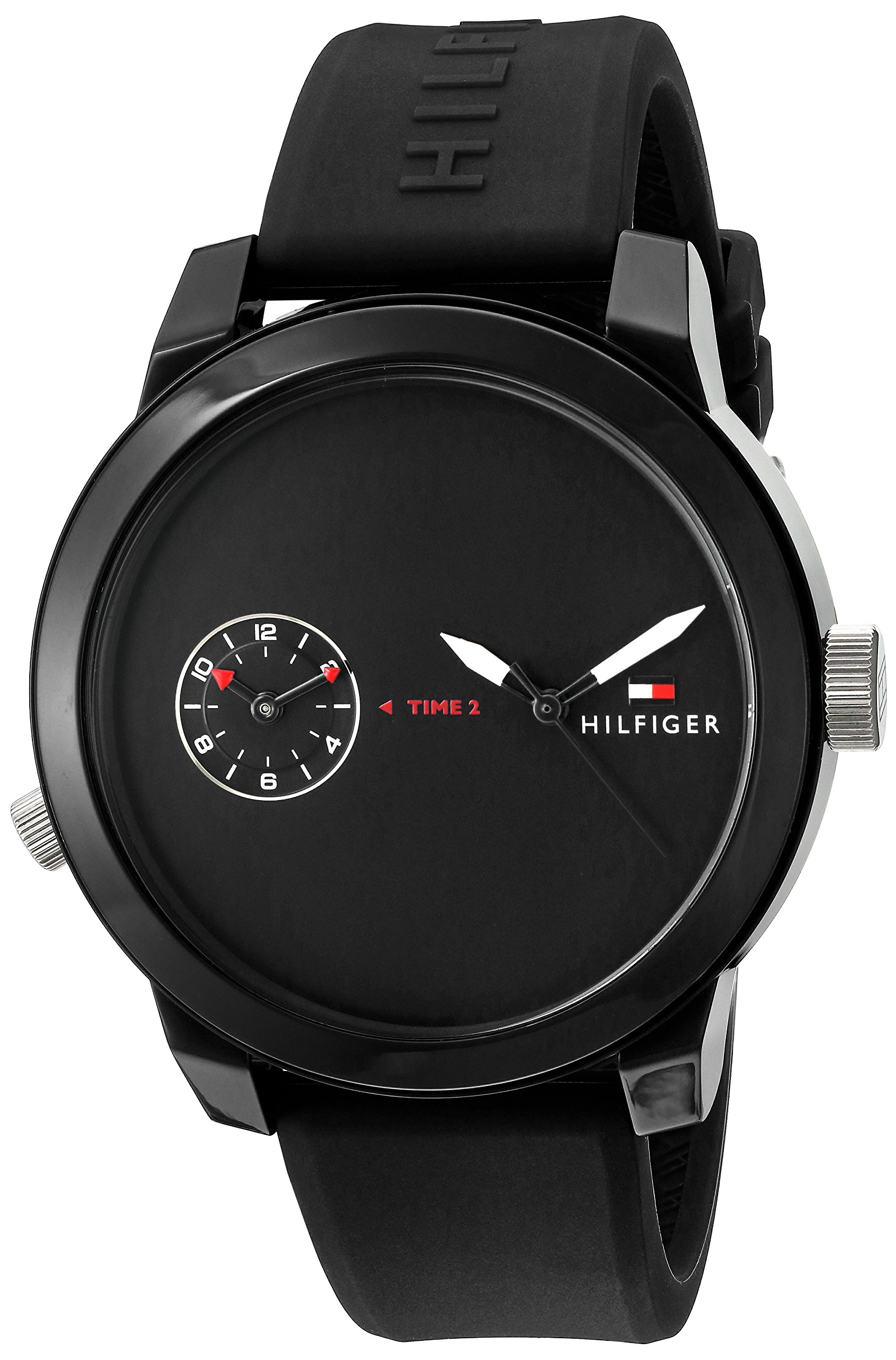 Tommy Hilfiger Men's 1791326 Analog Display Quartz Black Watch by Tommy Hilfiger