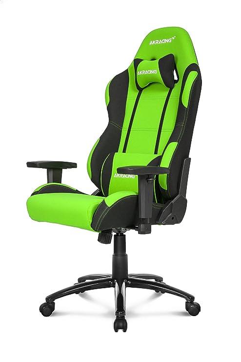 Sedia Gaming Akracing.Akracing Prime Gaming Chair Grun Schwarz